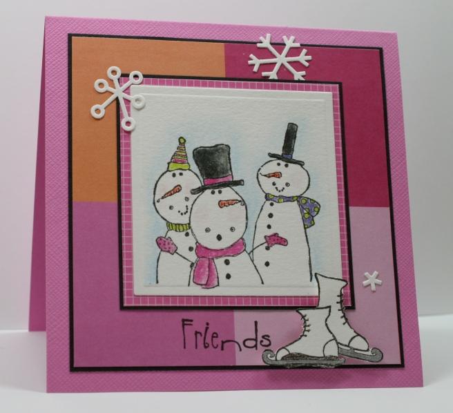Friends....talkin' in a Winter Wonderland