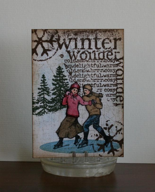 Winter Wonder ATC