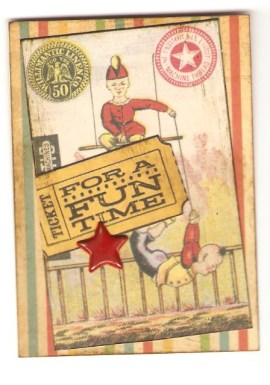 pam's circus card
