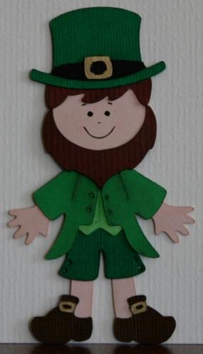 charming green guy