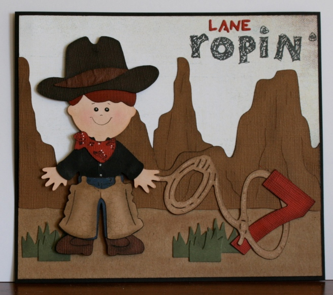 Lane ropin' 7