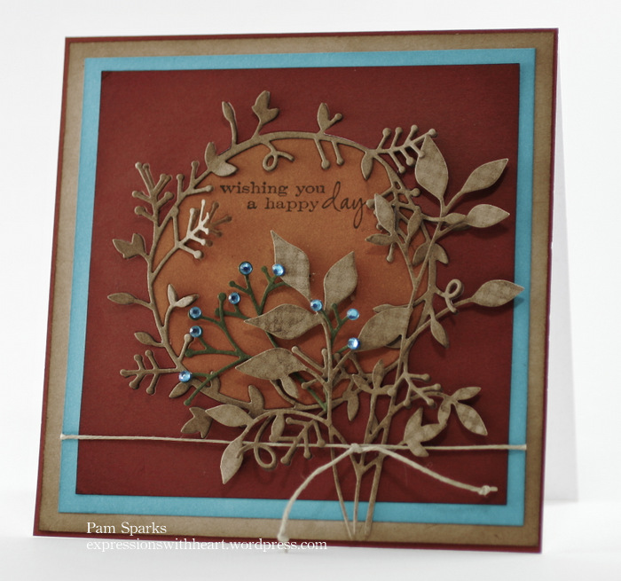 Memory Box And Poppystamps Fall Card And A Giveaway