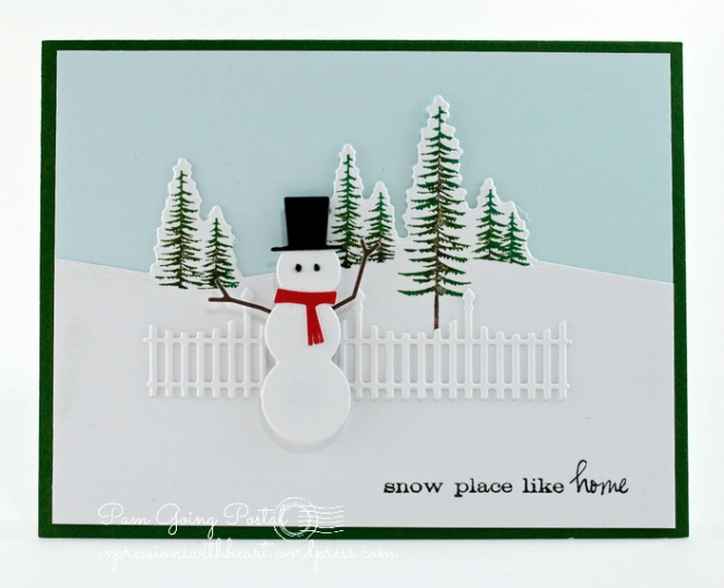 Image result for Poppy Stamp bundled snowman