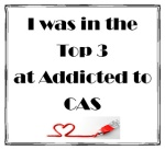 Addicted to CAS top 3 badge