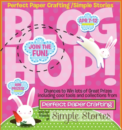 Perfect Paper Crafting and Simple Stories Blog Hop...