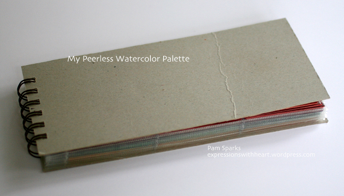 Pam Sparks Peerless Palette Cover