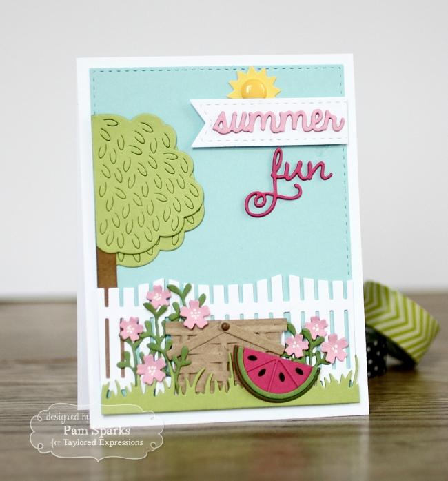 PamSparksTEBasket:Watermelon