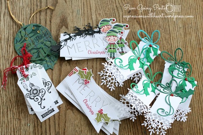 Pam Sparks Christmas Tags 2015