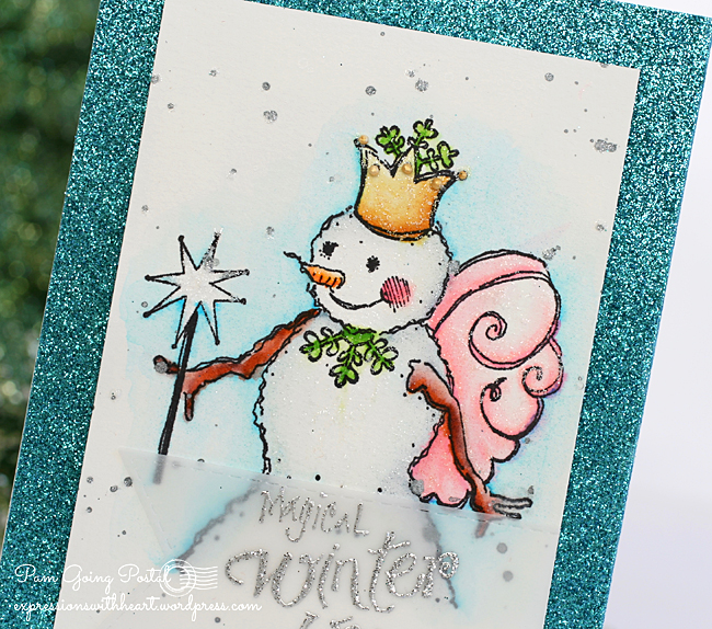 Pam Sparks Fairy Snow Queen Close