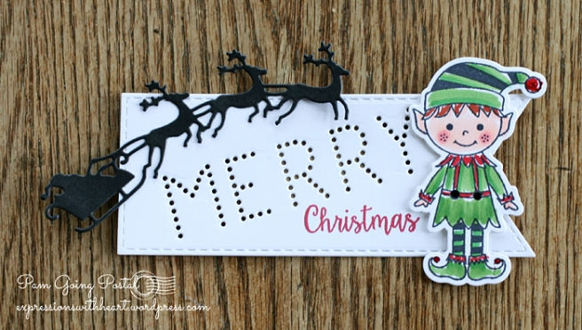 Pam Sparks HA Elf Tag
