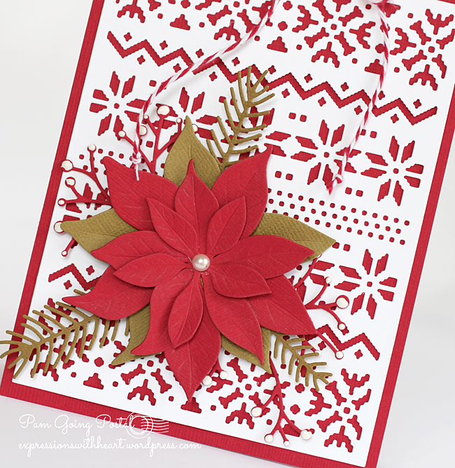 Pam Sparks ps Poinsettia TE Nordic Close