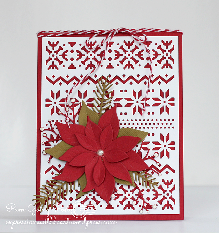 Pam Sparks ps Poinsettia TE Nordic
