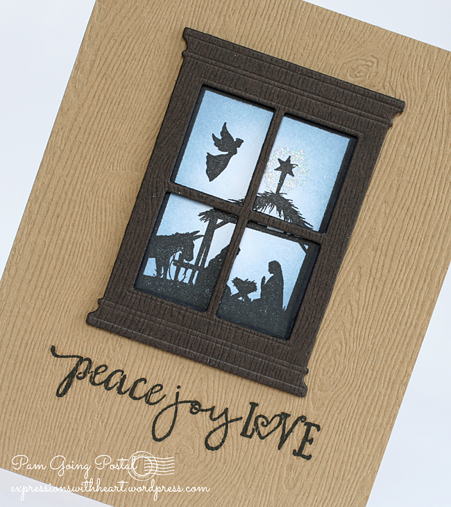 Pam Sparks TE Nativity window Close