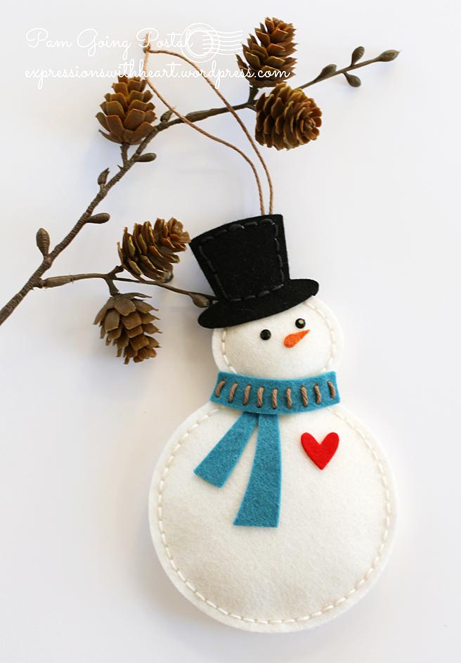 Memory Box Plush Bundled Snowman Mitten And A Tip