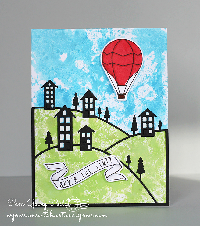 Pam Sparks Balloon Scene ps and MB