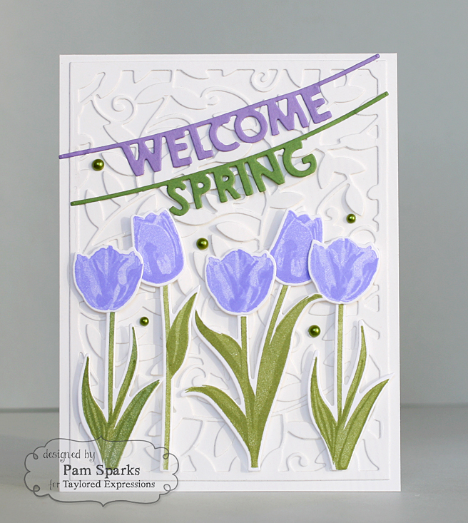 Pam Sparks Simply Stamped Tulips