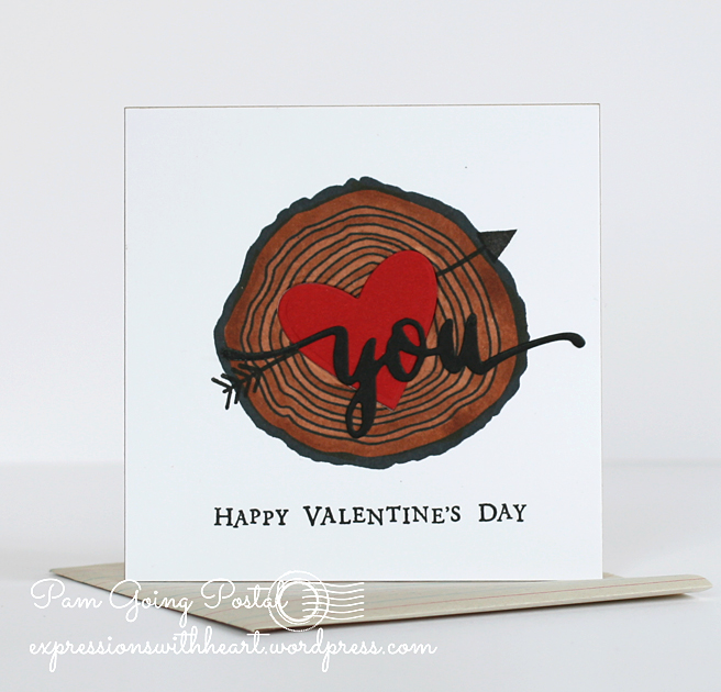 Pam Sparks Tree Ring Valentine