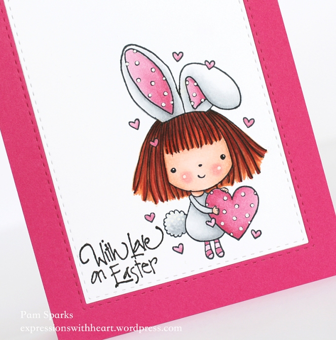 Pam Sparks PB Mimi Bunny Easter Close