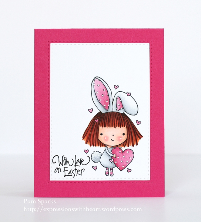 Pam Sparks PB Mimi Bunny Easter