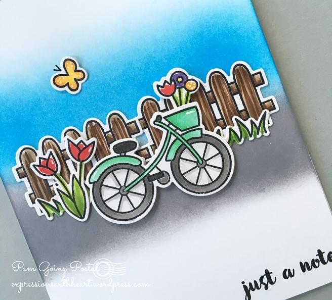 Pam Sparks ps Bike close