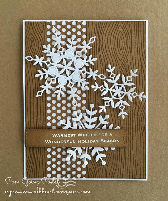 Pam Sparks SSS kraft snowflakes