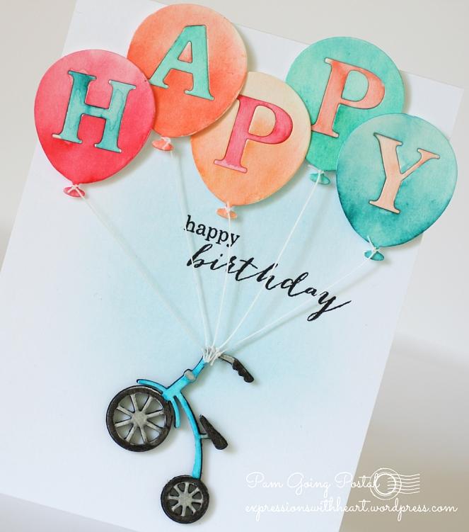 Pam Sparks Balloons Trike Birthday close