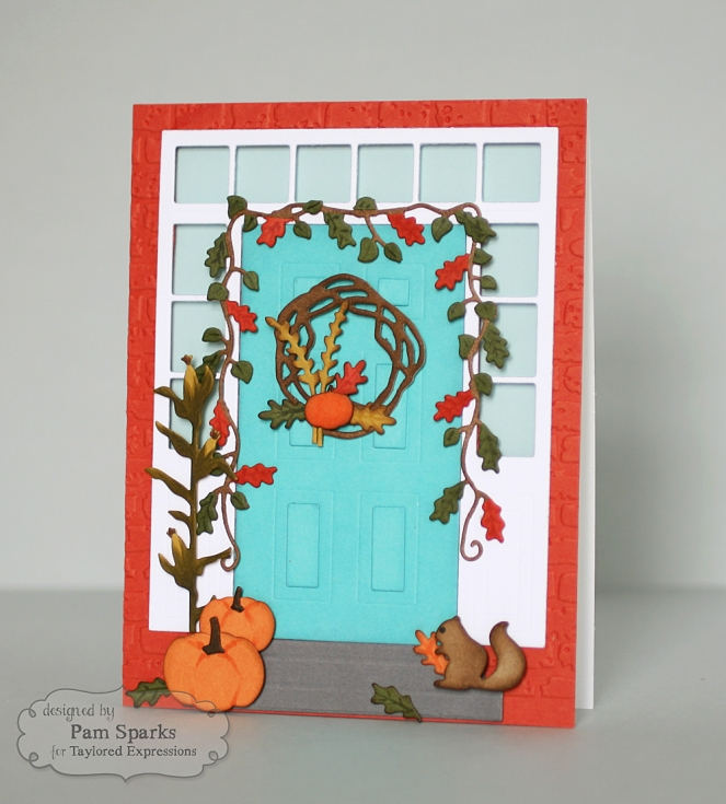 Pam Sparks Door to Door Fall Decor