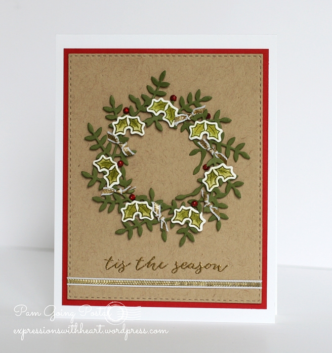 Pam Sparks Freida Wreath Christmas