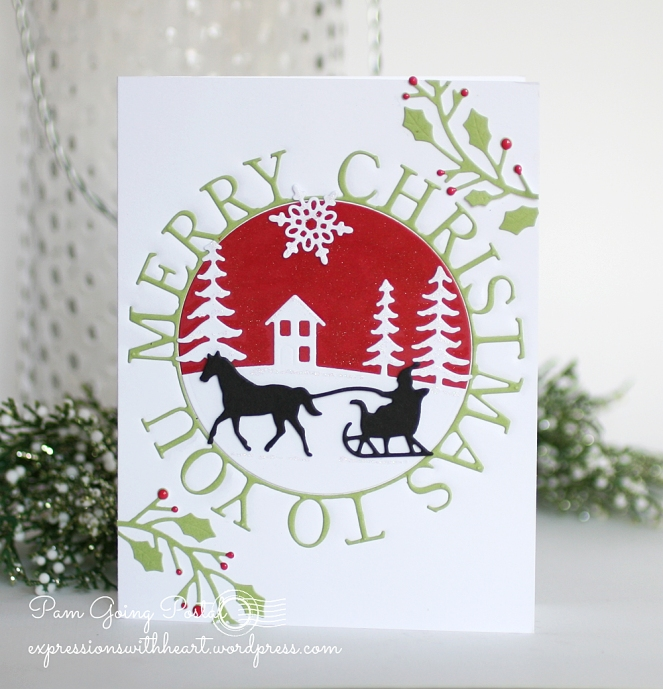 pam-sparks-merry-c-mas-ring-one-horse-open-sleigh