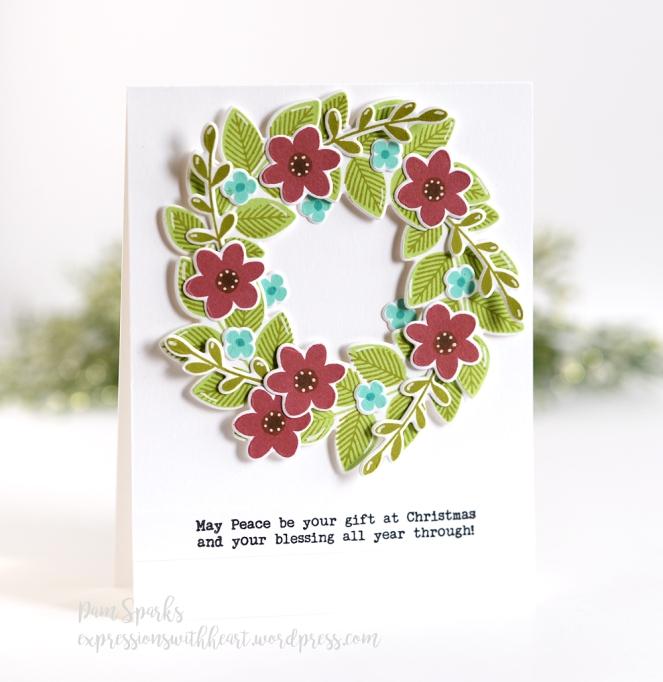 Pam Sparks HBB Wildflower Bouquet Wreath 9.25.18