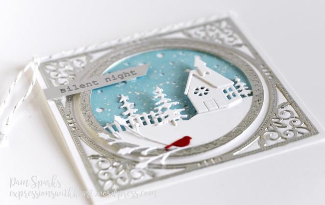 Memory Box Country Church Frame Card…