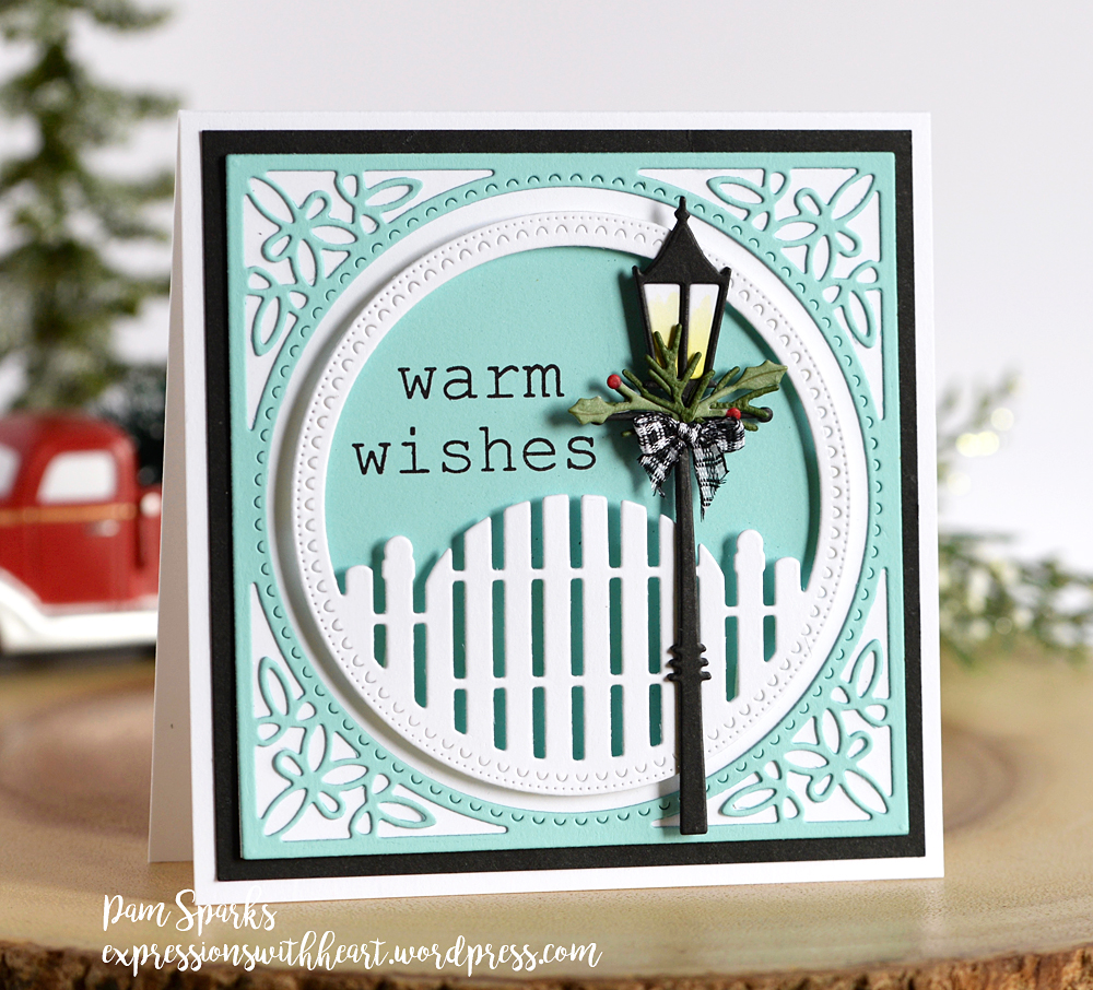 94041 Holiday Lamp Post craft die