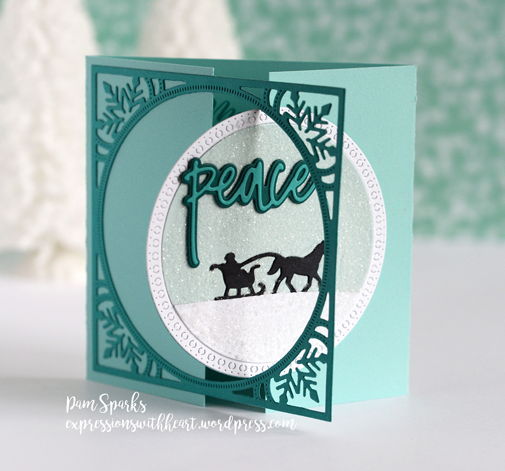 CL5225 Typewrite Holiday Sentiments clear stamp set