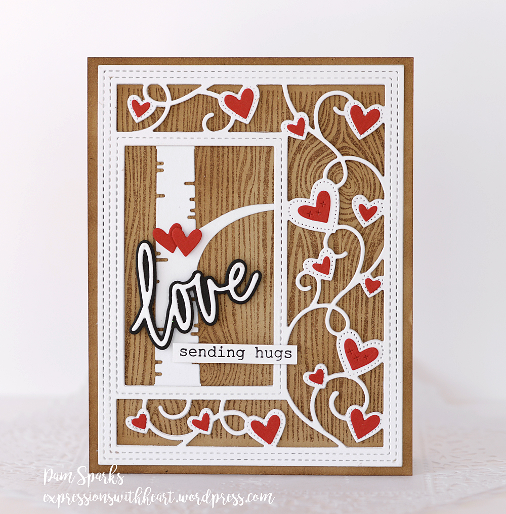 2152 Ribbon Heart Sidekick Frame and Stencil craft die