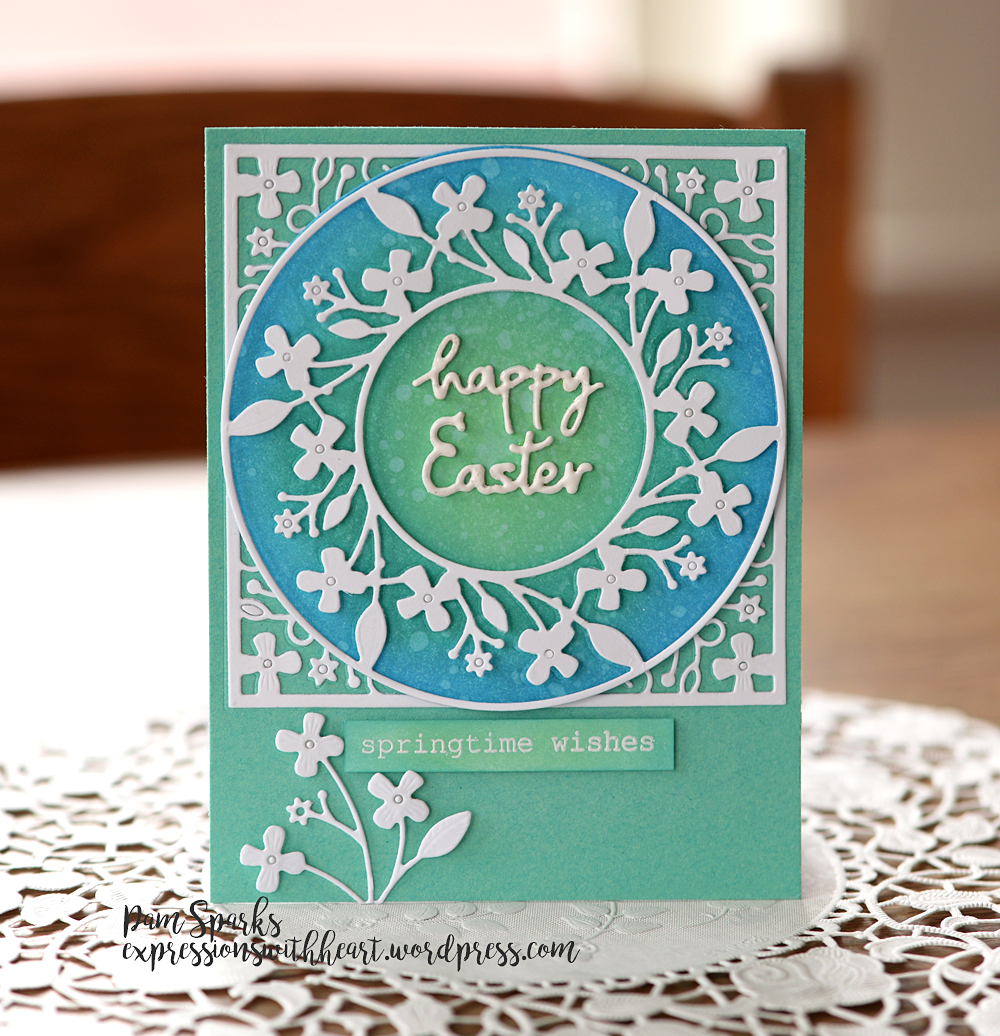 CL5239 Springtime Typewriter Sentiments clear stamp set