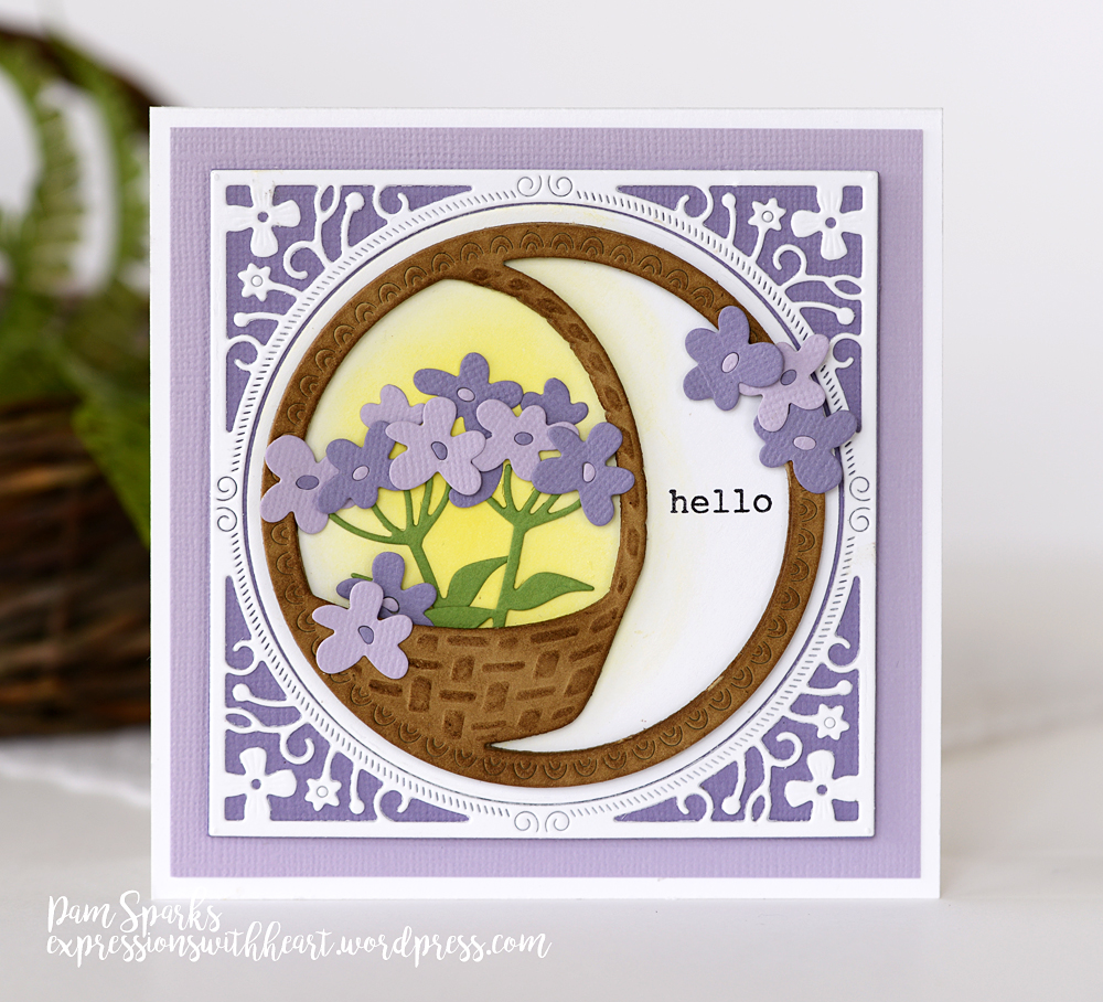 99997 Forget Me Not Blooms craft die