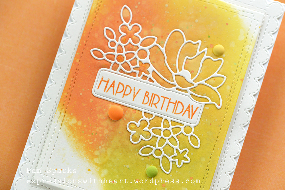 CL470 Birthday Blowout clear stamp set