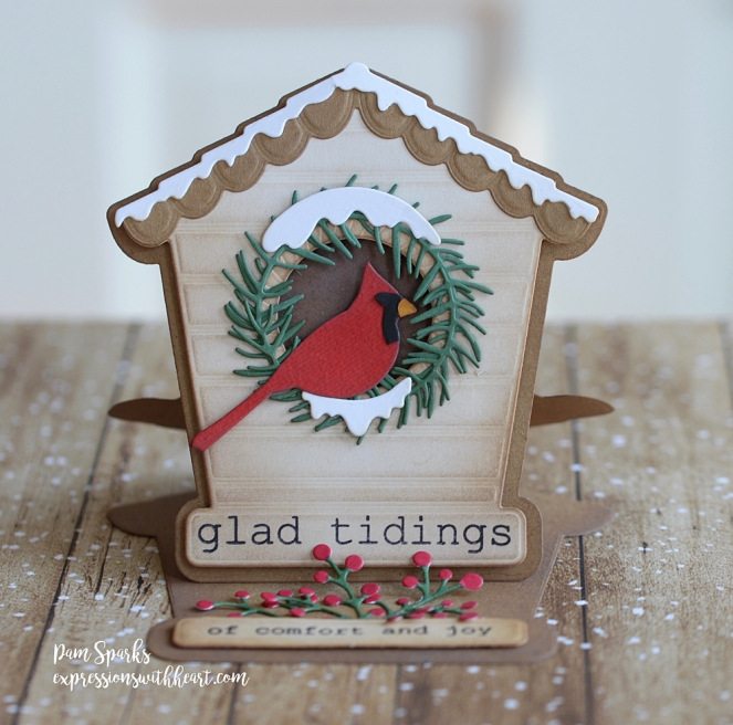 poppystamps Bird House Pop Up Easel Card…
