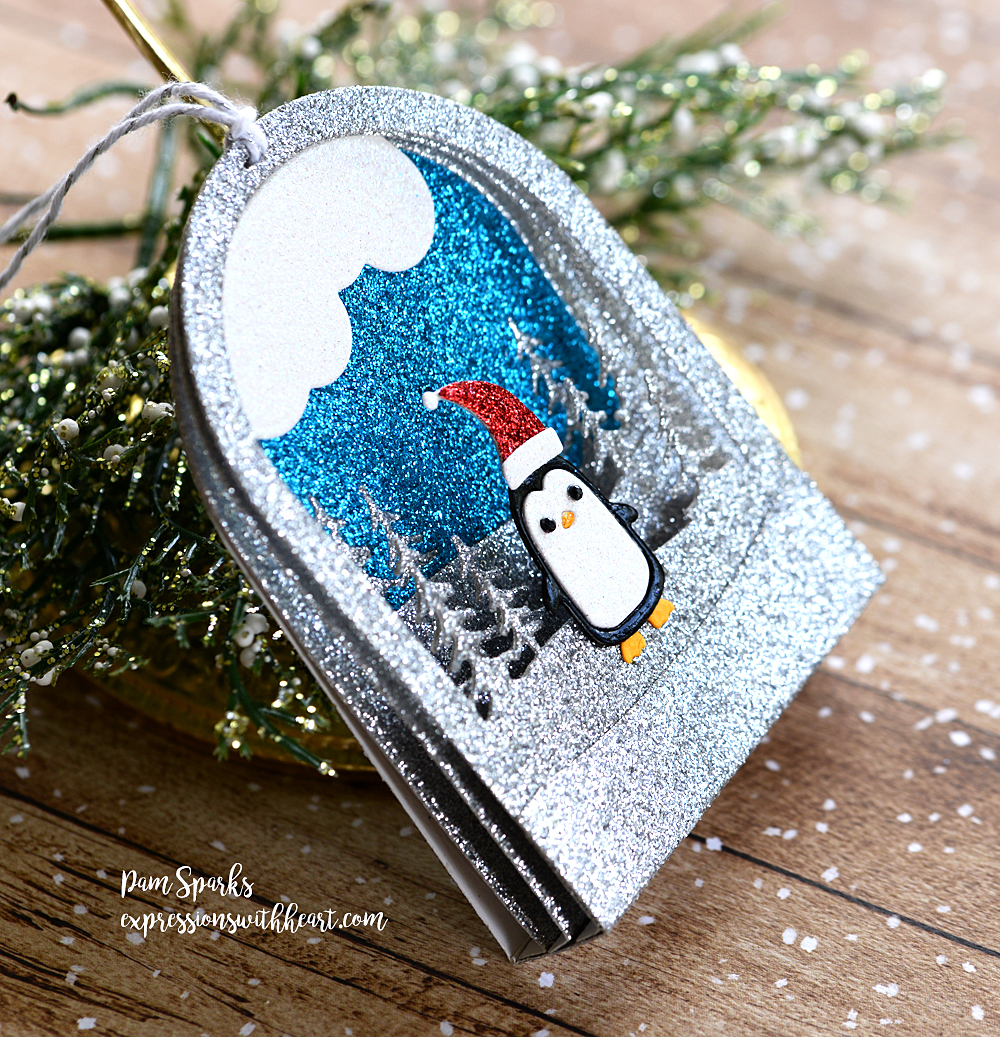 Memory Box Snowmen Snowglobe and Snowglobe Backer…
