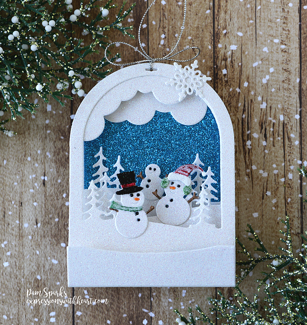 94493 Radiant Snowglobe craft die
