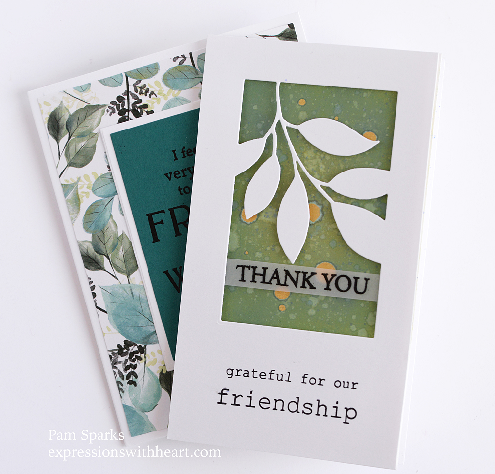 94525 Verdant Leaf Collage craft die