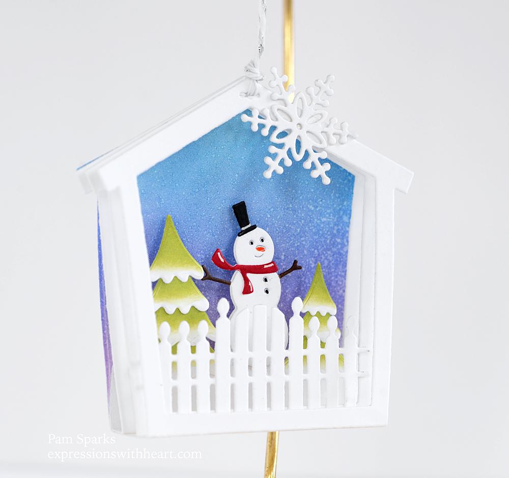 94606 House Frame Background craft die